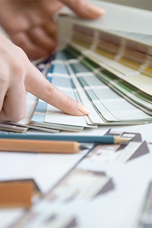 Selección de materiales, colores